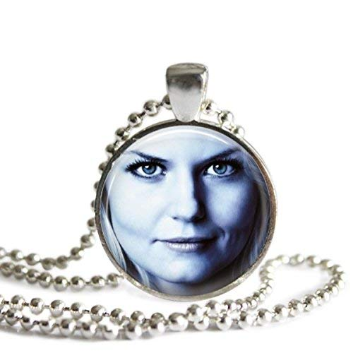 Emma Swan Once Upon A Time 1 Inch Silver Plated Pendant Necklace