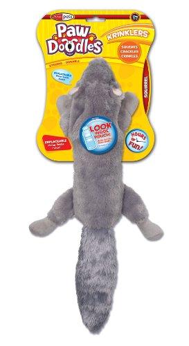 Pawdoodles Krinklers Dog Toy, Squirrel, My Pet Supplies