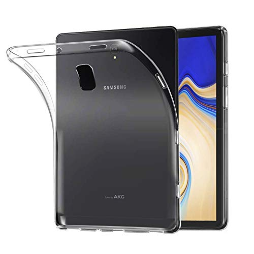 LEDNICEKER Case for Samsung Galaxy Tab S4 10.5 Inch 2018 - Light Weight Shock Proof Ultra-Thin Impact Resistant Flexible Soft Transparent TPU Case for Samsung Galaxy Tab S4 10.5 (SM T830/835)- Clear