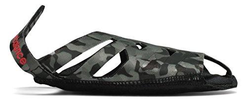 軽マグのり(ニューバランス) New Balance 靴?シューズ レディーストレーニング NB Studio Skin Print Black with Grey ブラック グレー M (M)