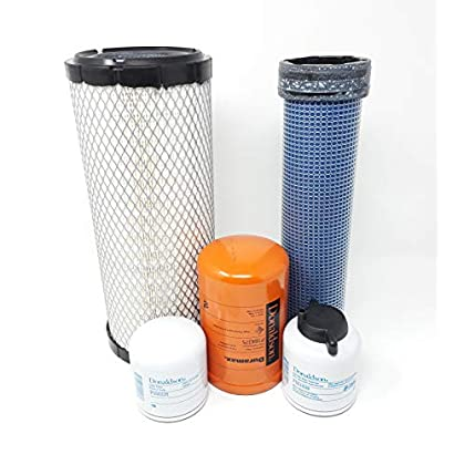 Image of Air Filters CFKIT For Bobcat Filter Kit 863 863G 864 873 873G 883 Oil Fuel Hyd.Air