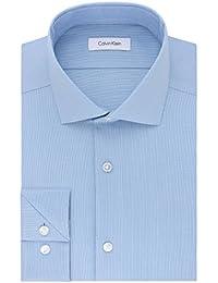 Men's Non Iron Stretch Slim Fit Dress Shirt