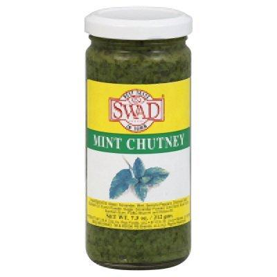 Swad Mint Chutney, 7.5 Ounce - 12 per case.