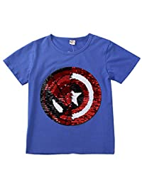 Frontiersman Children's Clothing Sequined T-Shirts can be Turned into Clothes,