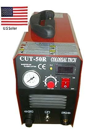 Plasma Cutter CUT50R New 50AMPS 220V 1/2 Inch Cut Inverter ...
