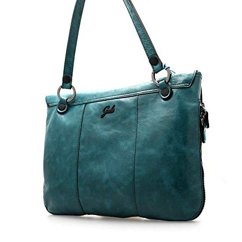 Azzurra Donna Borsa Pelle c2504 VerdeG001490t2x0435 Gabs thCsQrd