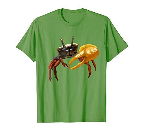 Uca Pugilator Sand Fiddler Crab T Shirt Tshirt tee