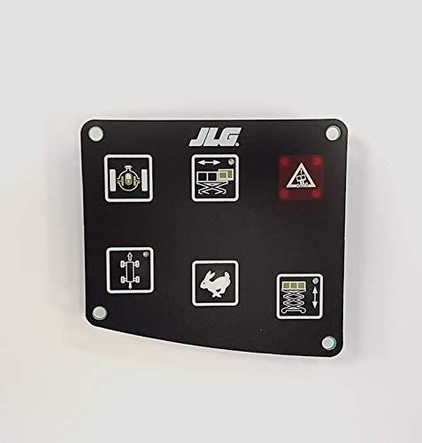 JLG 4360453 - New JLG (OEM) Scissor Lift Control Panel Membrane/Touchpad