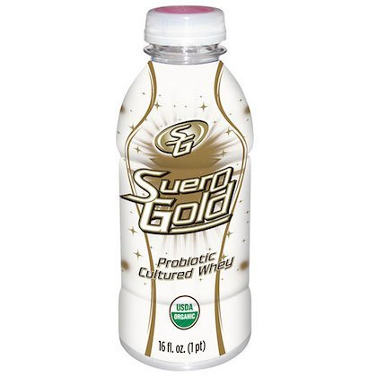 Suero Gold Whole Food Probiotic Whey Drink (12, 16 oz. bottles) - 4 Pack by Beyond Organic