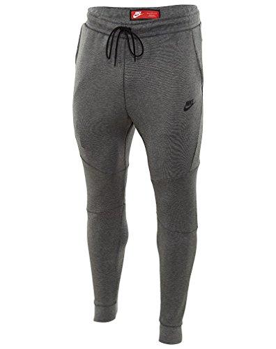 Nike Mens Sportswear Tech Fleece Jogger Sweatpants Carbon Heather/Black 805162-091 Size Small