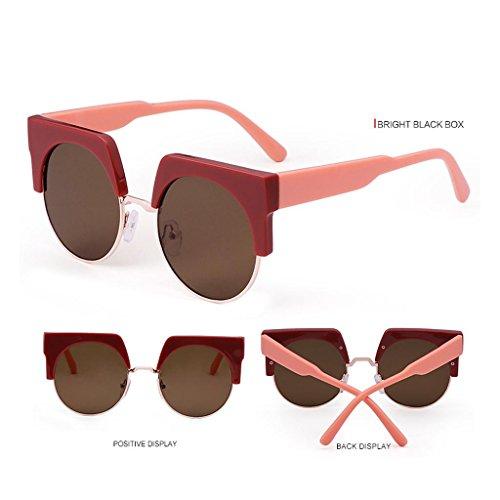 HAOCP Occhiali da sole/occhiali da sole signore/personalità/per prevenire UV/occhiali da sole, 1