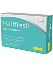 Halifresh Mouthwash Tablets - 3 in 1 Action : hydrates, soothes and Targets Bad Breath (30 Tablets)