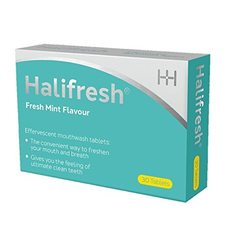 Halifresh Effervescent Mouthwash Tablets