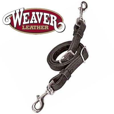 - Weaver Leather TIE DOWN, BACK IN BLACK