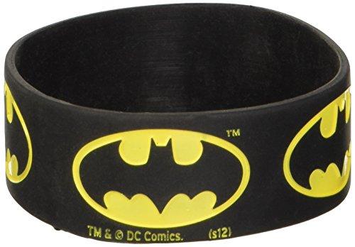 Batman Logo Rubber Wristband (Pyramid Wristband)