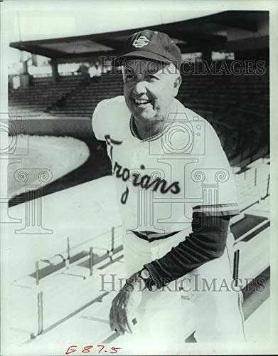 Olympics Baseball 1984 (Vintage Photos 1984 Press Photo USA Olympic Baseball Coach Rod Dedeaux. - hcs04049)