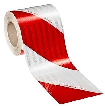 3 M Retroreflektierende Folie Rot Weiß 2 Ref 3410 Prismatische High Intensity Flexible Din 30710 Klasse 9 M Links 9 M Rechts 9mx14cm 1 Roll R 1 Roll L 2 Bei Amazon De