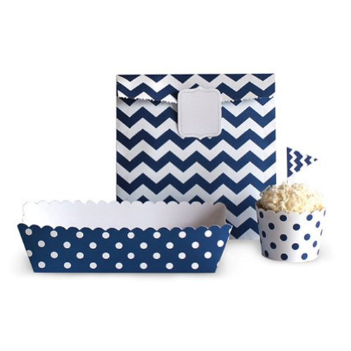 paper eskimo baking cups chevron - 1