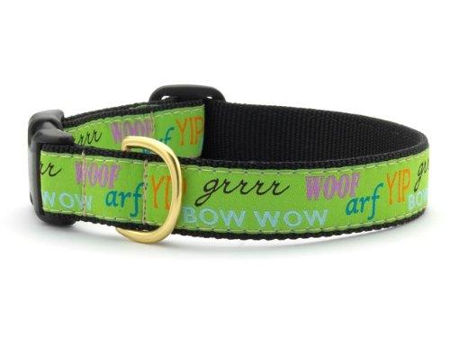 Up Country 'Dog Talk' Collar Medium