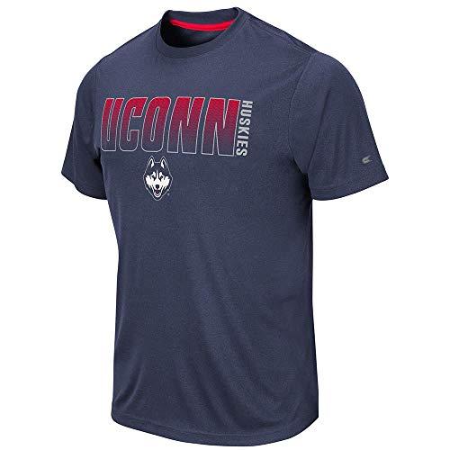 Huskies Basketball Mens Connecticut - Mens UConn Connecticut Huskies Hamilton Short Sleeve Tee Shirt - L