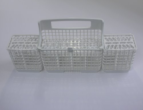 Kenmore Dishwasher Silverware Basket 8562080 White, Model: W10807920 is a replacement for 8562080, Hardware Store