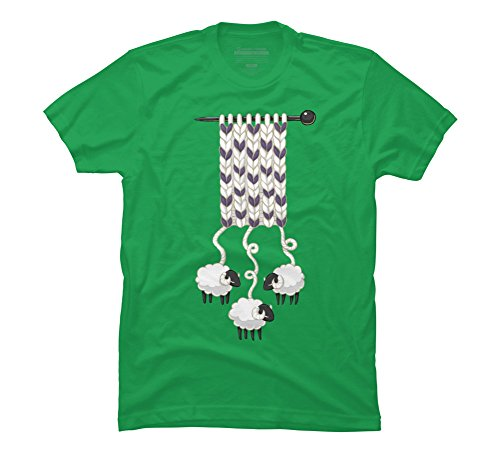 Wool Scarf Men's Small Kelly Green Graphic T Shirt - Design By Humans