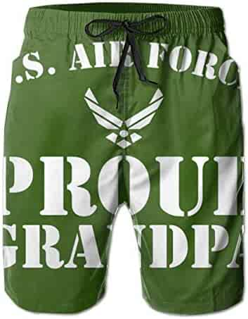 Reality And Ideals 5th Air Force USAAF Mens Swim Trunks Board Shorts