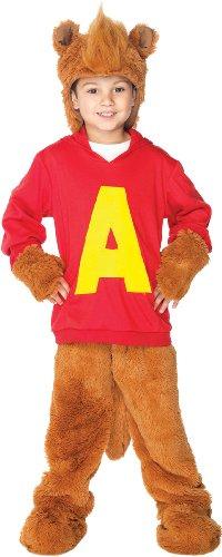 Alvin Costume - X-Small (Alvin The Chipmunk Costume)