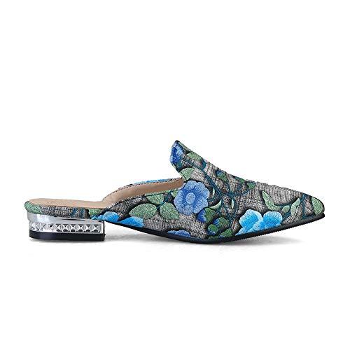 BalaMasa 5 36 Sandales Bleu Femme ASL05631 Bleu EU Compensées vrnwUvgq
