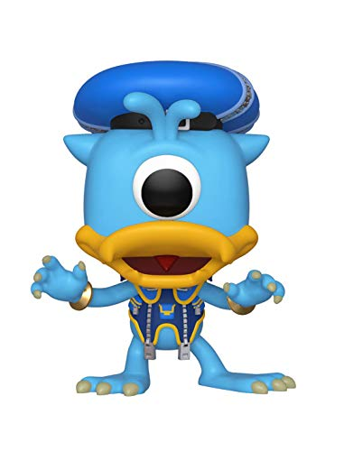 Funko Pop Disney: Kingdom Hearts 3 - Donald (Monsters Inc.) Collectible Figure, Multicolor]()