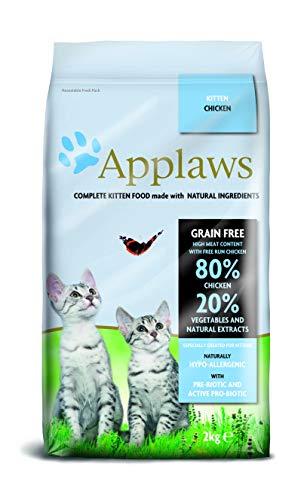 Applaws Comida seca para gatos, pollo/gatito, 2 kg: Amazon.es: Productos para mascotas