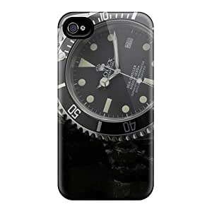New Shockproof Protection Cases Covers For Iphone 6/ Rolex Watch Wallpaper Cases Covers