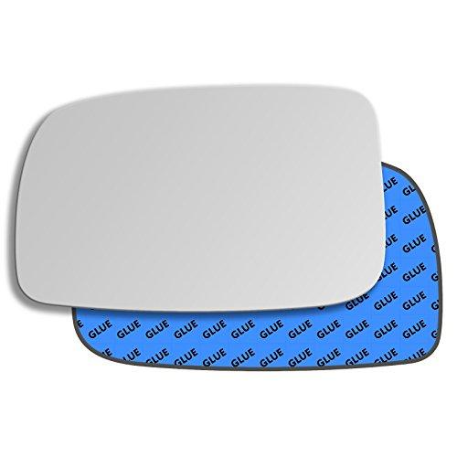 Hightecpl 85LS Left Hand Passenger Side Convex Door Wing Mirror Glass