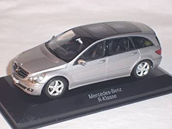 Mercedes W251 R-Class black modelcar Minichamps 1:43