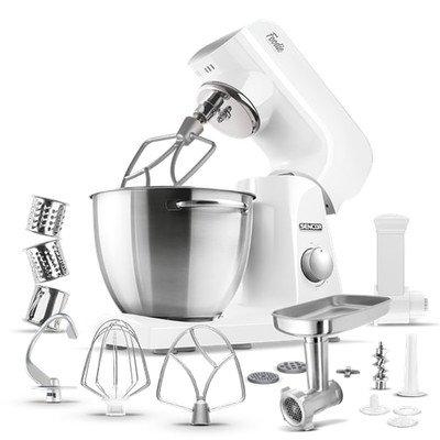 Sencor - Pastel Tilt-head Stand Mixer - Snowdrop White