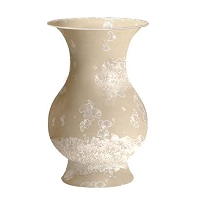 Amazon Asian Chinese Decorative Traditional Taupe Baluster Vase