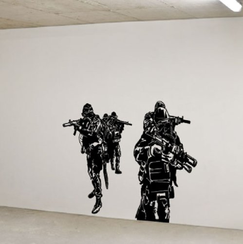 Navy Seals Special Forces Huge Wall Vinyl Decal