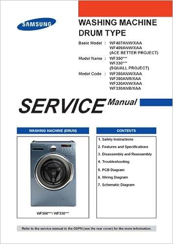 SAMSUNG WF330 AND WF350 SERVICE MANUAL: SAMSUNG: Amazon com