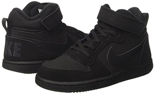 Black Basket Nike Mid Scarpe Court Nero Borough black Bambino ps Da Boys qq4pHw0P