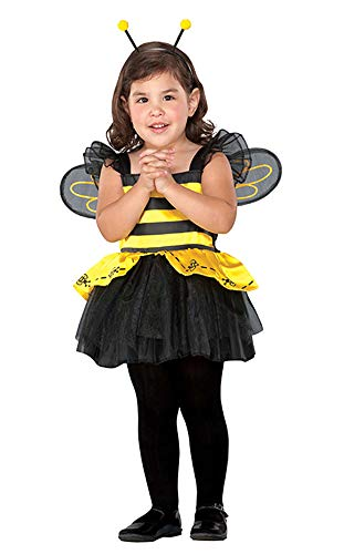 Seasons Direct Halloween Toddlers' Tiny Bee Costume Yellow]()