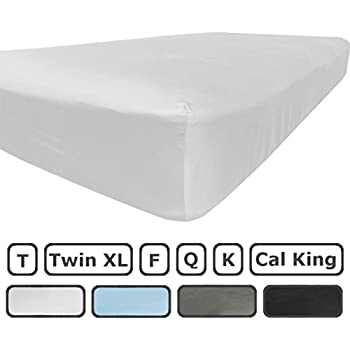 Amazon.com: King Size Flat Sheet Only - 300 Thread Count 100 ...