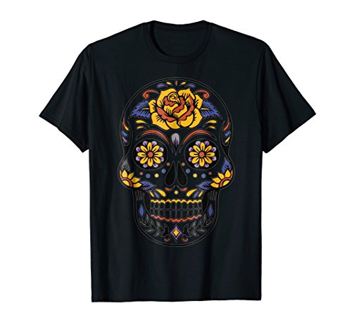 (Halloween Day of the Dead Tshirt Costume Idea Party)