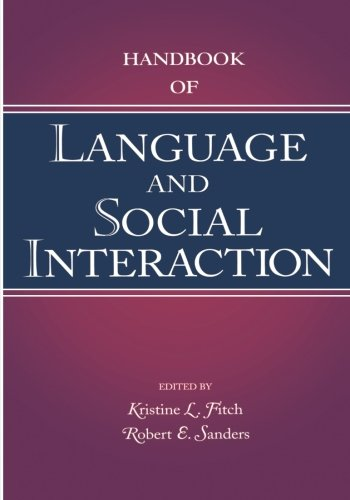 Handbook of Language and Social Interaction (Routledge Communication Series) by Brand: Psychology Press