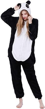 Pijama completo de animales unisex adulto disfraz de carnaval Halloween pijamas Cosplay disfraz mujer hombre mono animal