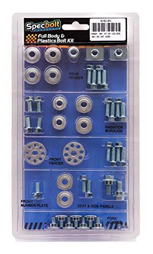 (Specbolt Fasteners Brand Full Body & Plastics Bolt Kit: CR125 CR250 (2000-2007) CRF450 (2000-2004) #01)