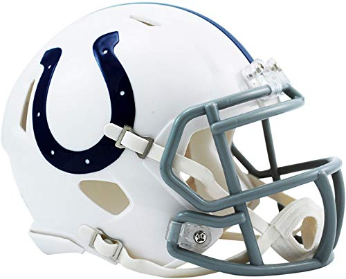 - Riddell Indianapolis Colts Revolution Speed Mini Football Helmet