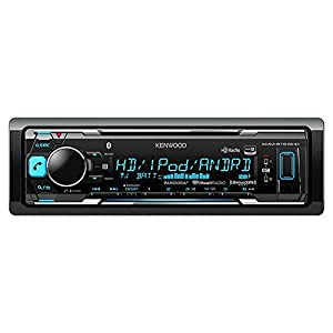 Kenwood KMM-BT515HD In-Dash Receiver, Built-in Bluetooth, HD Radio, Pandora and iheart Radio Radio