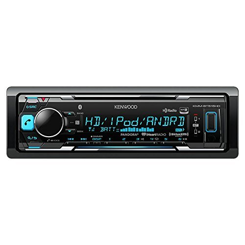 Kenwood KMM-BT515HD in-Dash Receiver, Built-in Bluetooth, HD Radio, Pandora and iheart Radio Radio