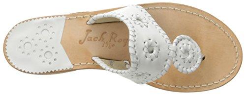 Palm White Wide Sandal Jack Rogers Women's Dress Beach xwqEEv4SO