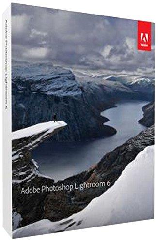 Adobe Photoshop Lightroom 6 - Software de gráficos (Win/Mac, Caja, ENG, Completo, Windows 7 Enterprise, Windows 7 Enterprise x64, Windows 7 Home Basic, Windows 7 Home Basic x64, Wind, Mac OS X 10.7 Lion, Mac OS X 10.8 Mountain Lion, Mac OS X 10.9 Mavericks)